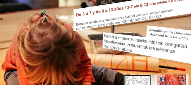 HARANEKO EGUBERRIKO TXARTELA DISEINATZEN DU