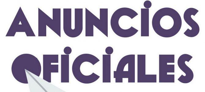 ANUNCIOS OFICIALES- Sede Electrónica – IRAGARPEN OFIZIALAK